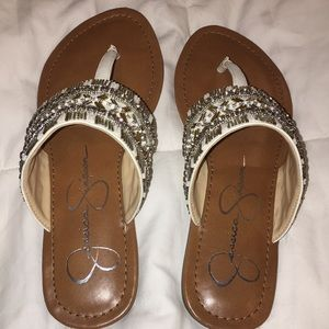 New never used Jessica Simpson sandals